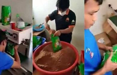 Video Pembuatan Milo Palsu Beredar Ini Viral!