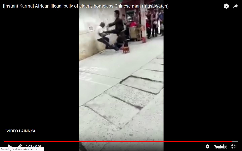VIDEO: Dapat Karma, Pria Ini Ditendang Hingga Terlempar Usai Bully Pengemis