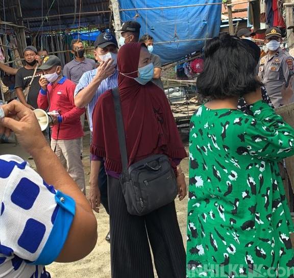 Tolak Dipindahkan, Ratusan Pedagang Usir Kadis Perindagsar, Camat Hingga Satpol-PP Sergai