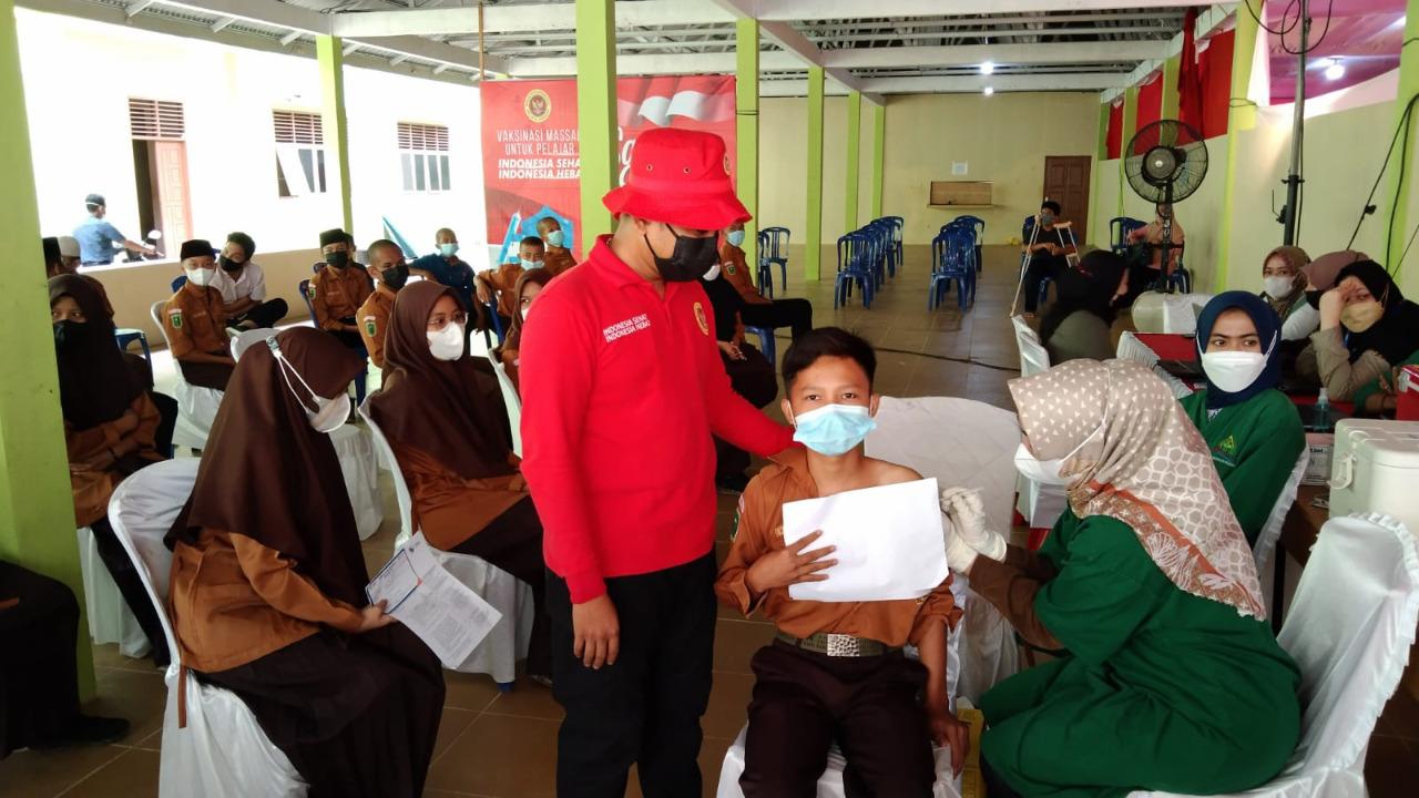 BIN Riau Gelar Vaksinasi Door To Door, Lansia Tak Perlu Ngantri