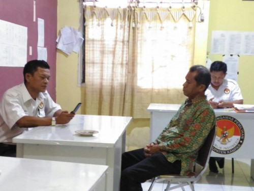 Coblos 4 Kertas Surat Suara Sekaligus Ketua KPPS di Kampar Diproses Gakkumdu