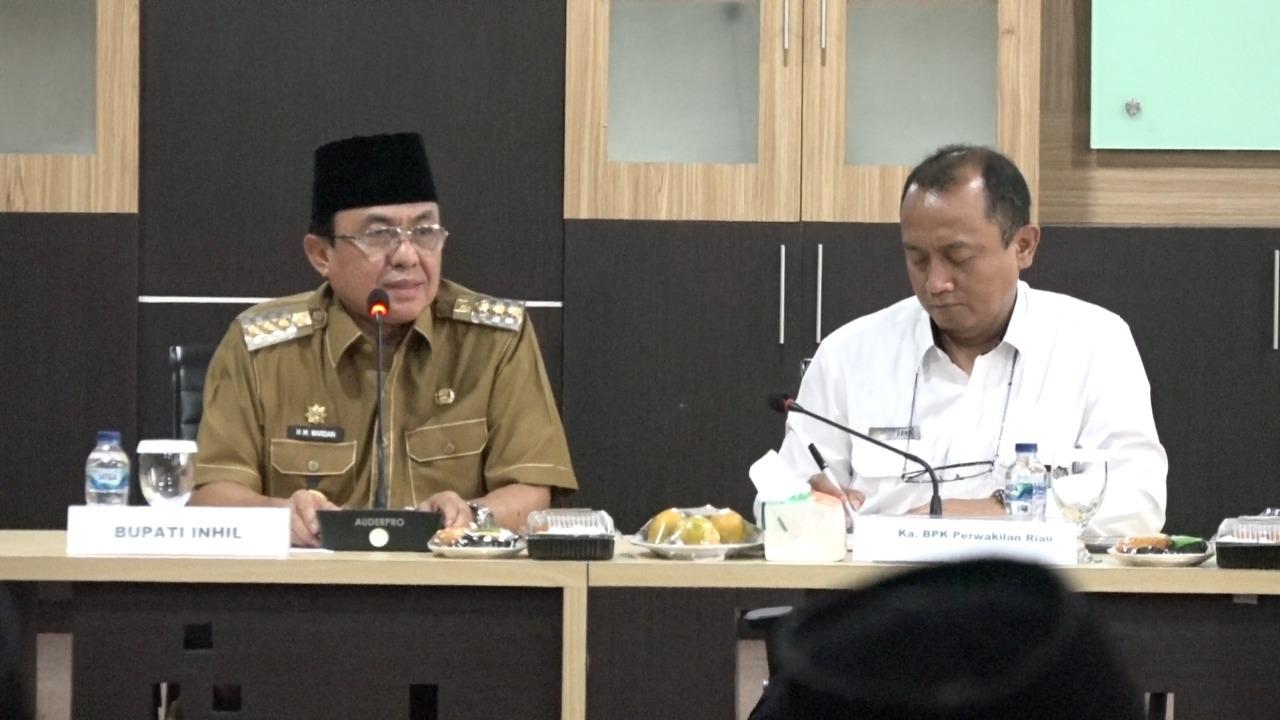 Pemkab Inhil Entry Briefing Bersama Tim BPK RI Guna Pemeriksaan Laporan Keuangan Daerah TA 2019