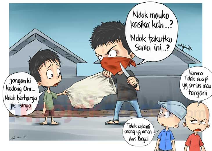 165 Kriminal Anak di Palembang Mengaku Bangga Jadi Begal