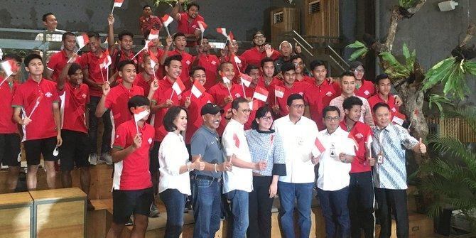 Juara AFF, Timnas U-16 diberi hadiah Rp 840 juta oleh BRI