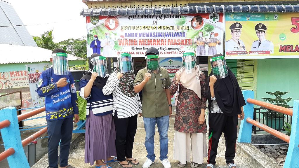 Dukung Petugas Medis, PKB Inhil Serahkan Bantuan APD di Kecamatan GAS dan Batang Tuaka