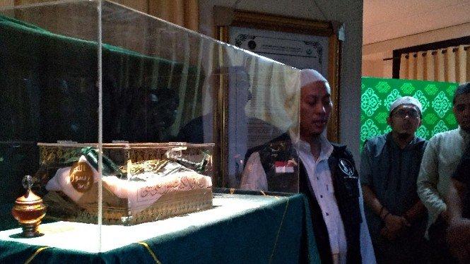 Opick Ungkapkan Mimpi Isyarat untuk Jaga Rambut Nabi Muhammad SAW