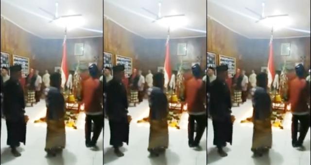 Video Ritual Aliran Sesat, Shalawat Nabi Muhammad Diganti Pancasila