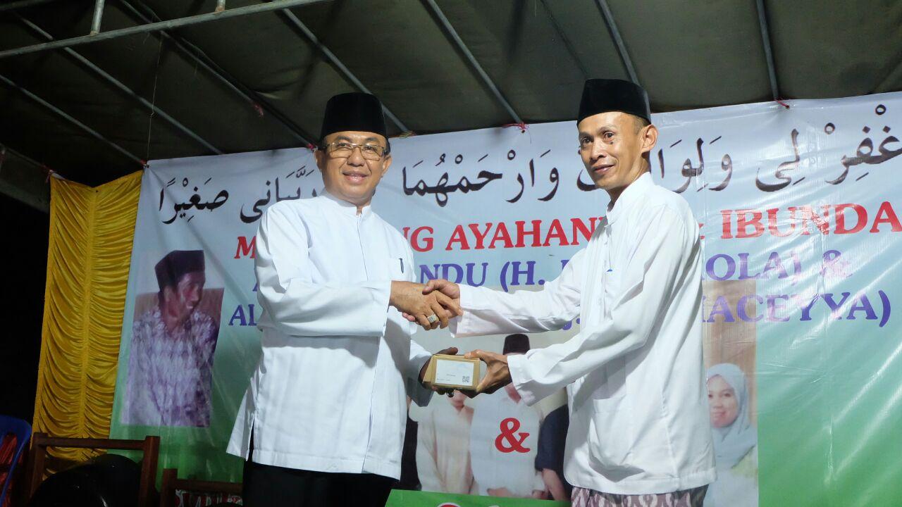Bersama Gubri, Bupati Inhil Hadiri Haul Syekh Abdul Qadir Jailani