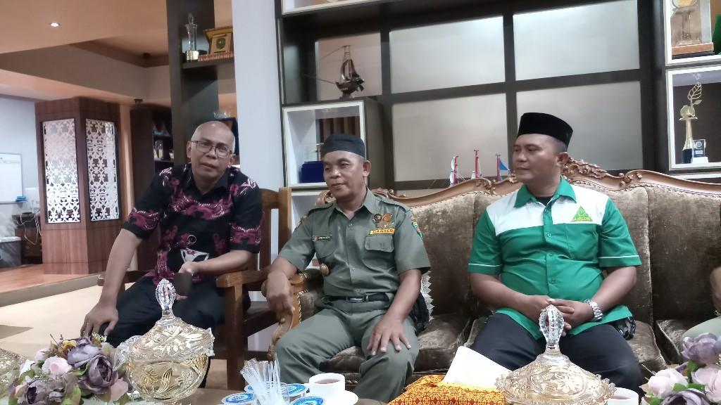 Pj Bupati Ajak Ansor dan Banser Inhil Tingkatkan Kewaspadaan Terhadap Terorisme