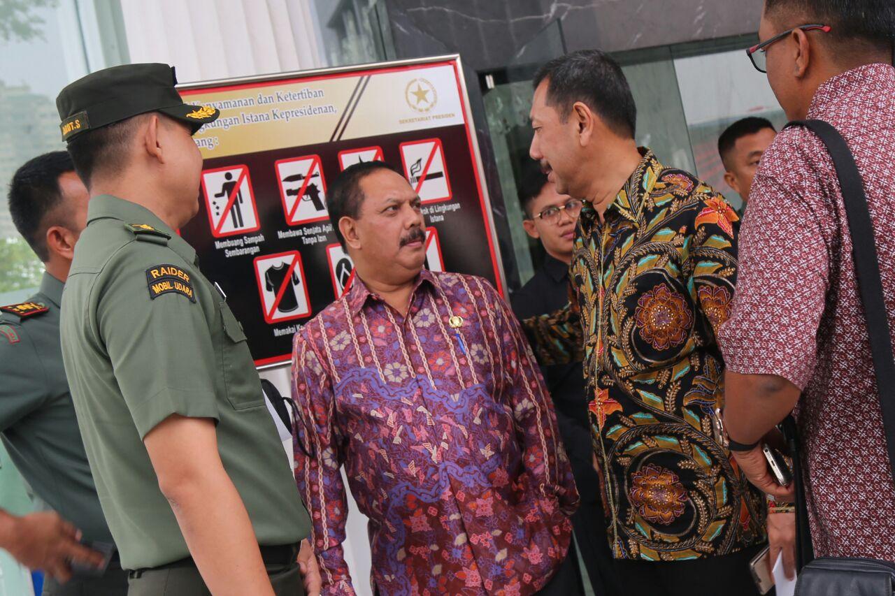 Sekda Inhil Hadiri Rakornas Pengendalian Karhutla Di Istana Negara