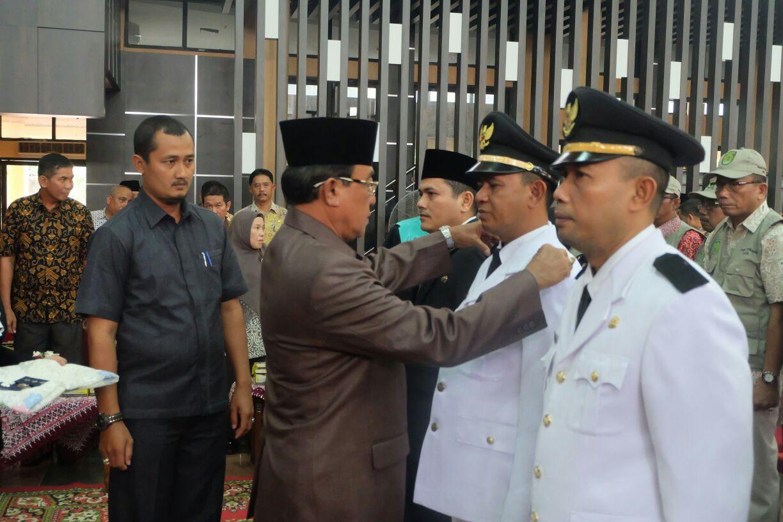 HM Wardan Lantik Pejabat Eselon III dan IV