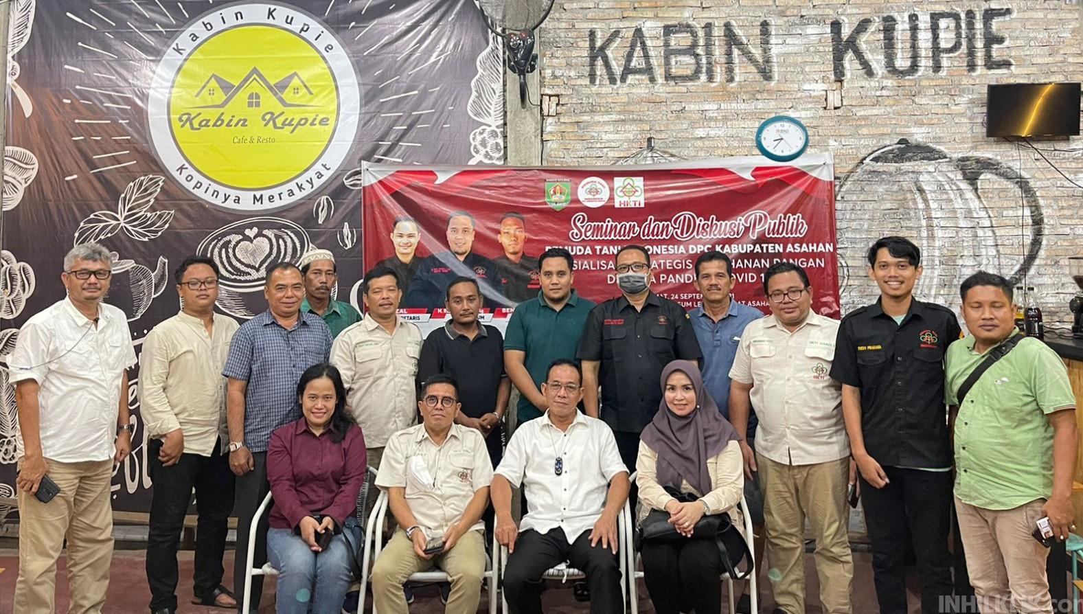 DPC Pemuda Tani Indonesia Kabupaten Asahan Gelar Seminar dan Diskusi Publik