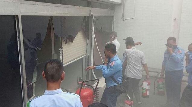 Gedung Nusantara III DPR/MPR Senayan Terbakar, Ini Asal Apinya