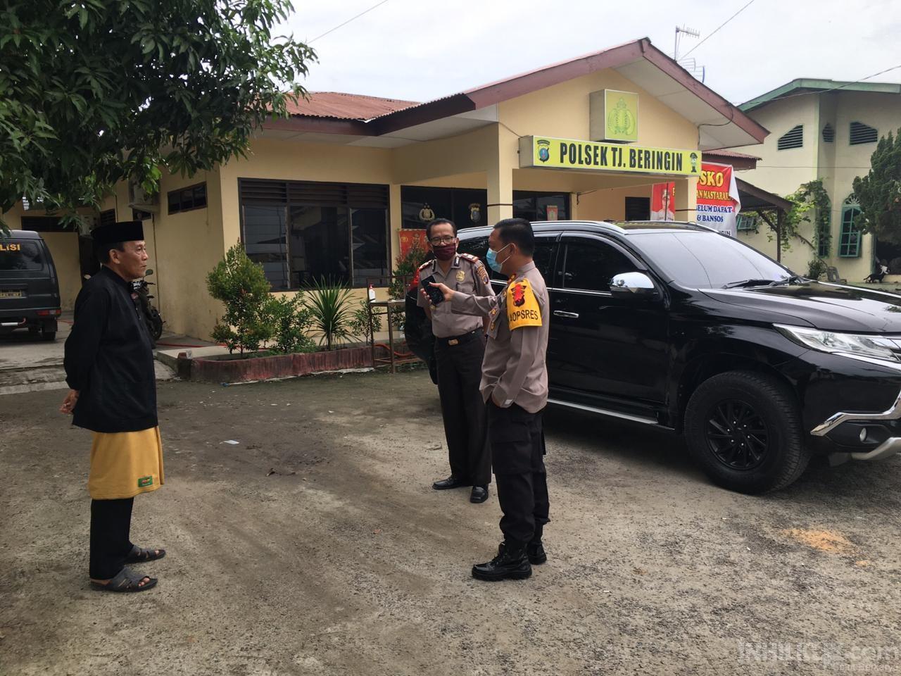 Kapolres AKBP Robin Simatupang Cek Polsek Jajaran dan Pos Pengamanan