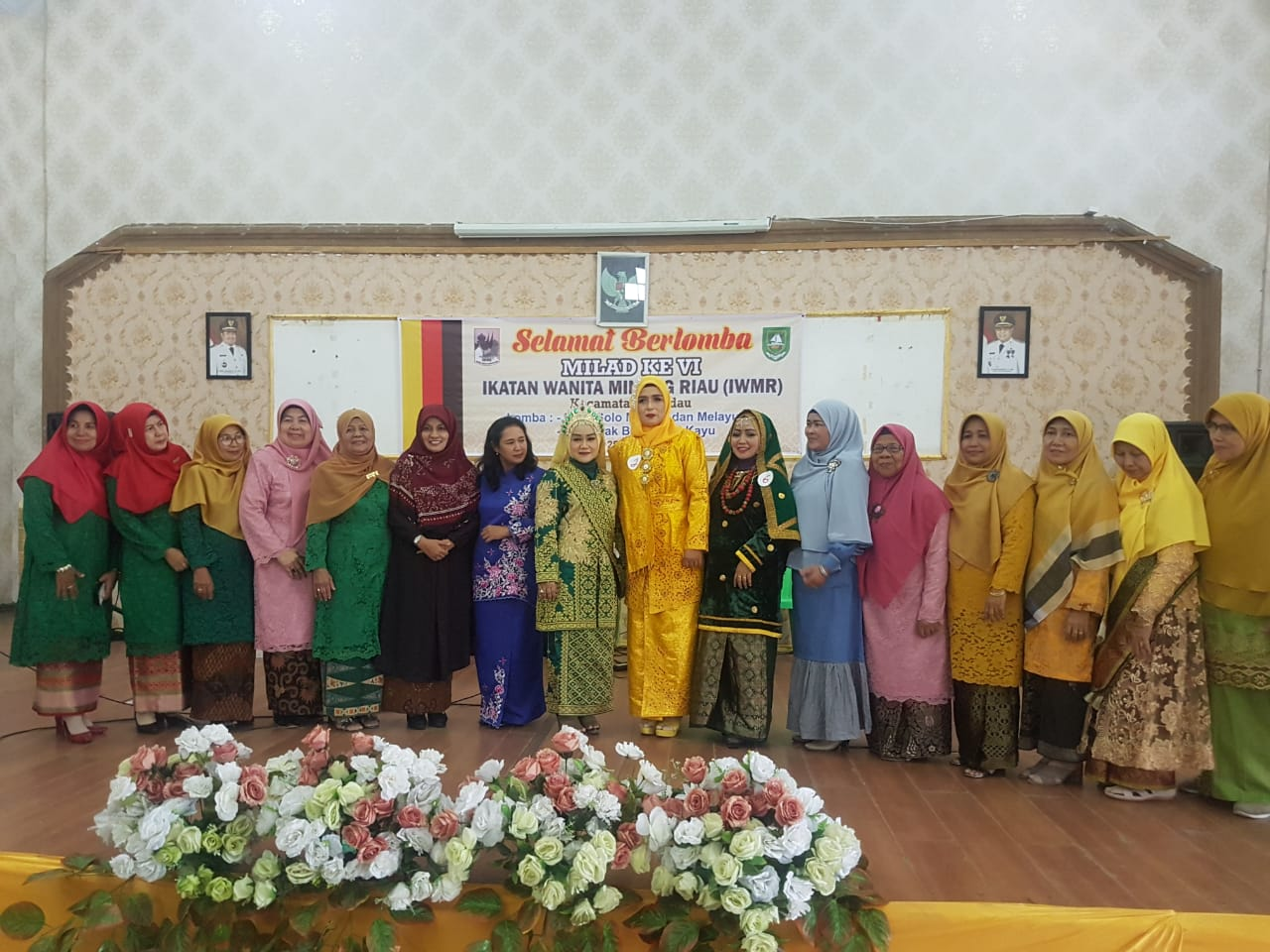 Anggota DPRD Riau Mira Roza Menghadiri, Milad ke VI Ikatan Wanita Minang Riau di Duri
