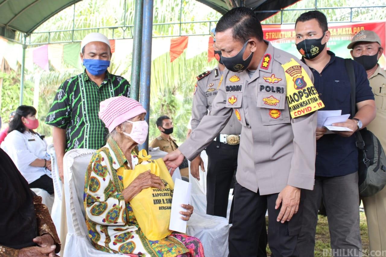 Kapolres AKBP Robin Simatupang Resmikan Desa Matapao Jadi