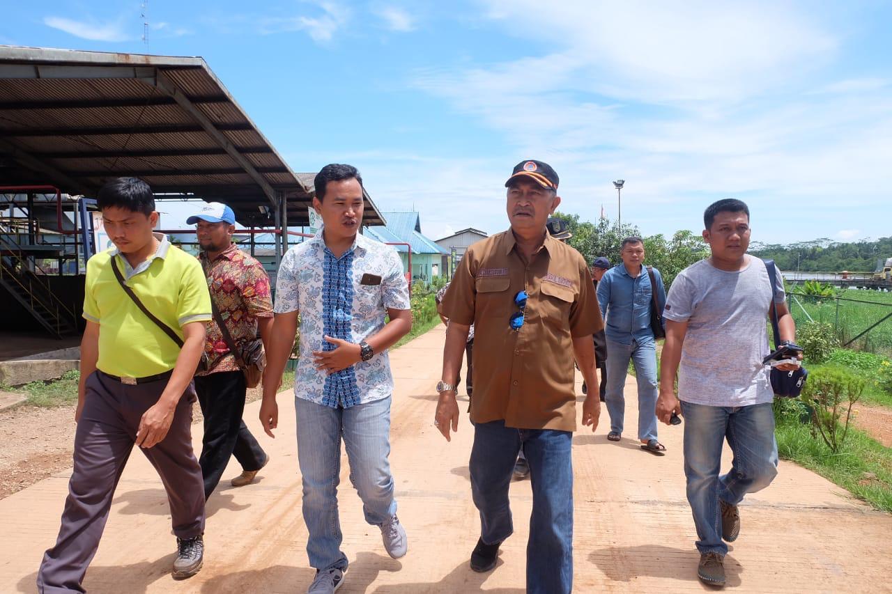 Wakil Bupati Inhil Kunjungi PT. GIN