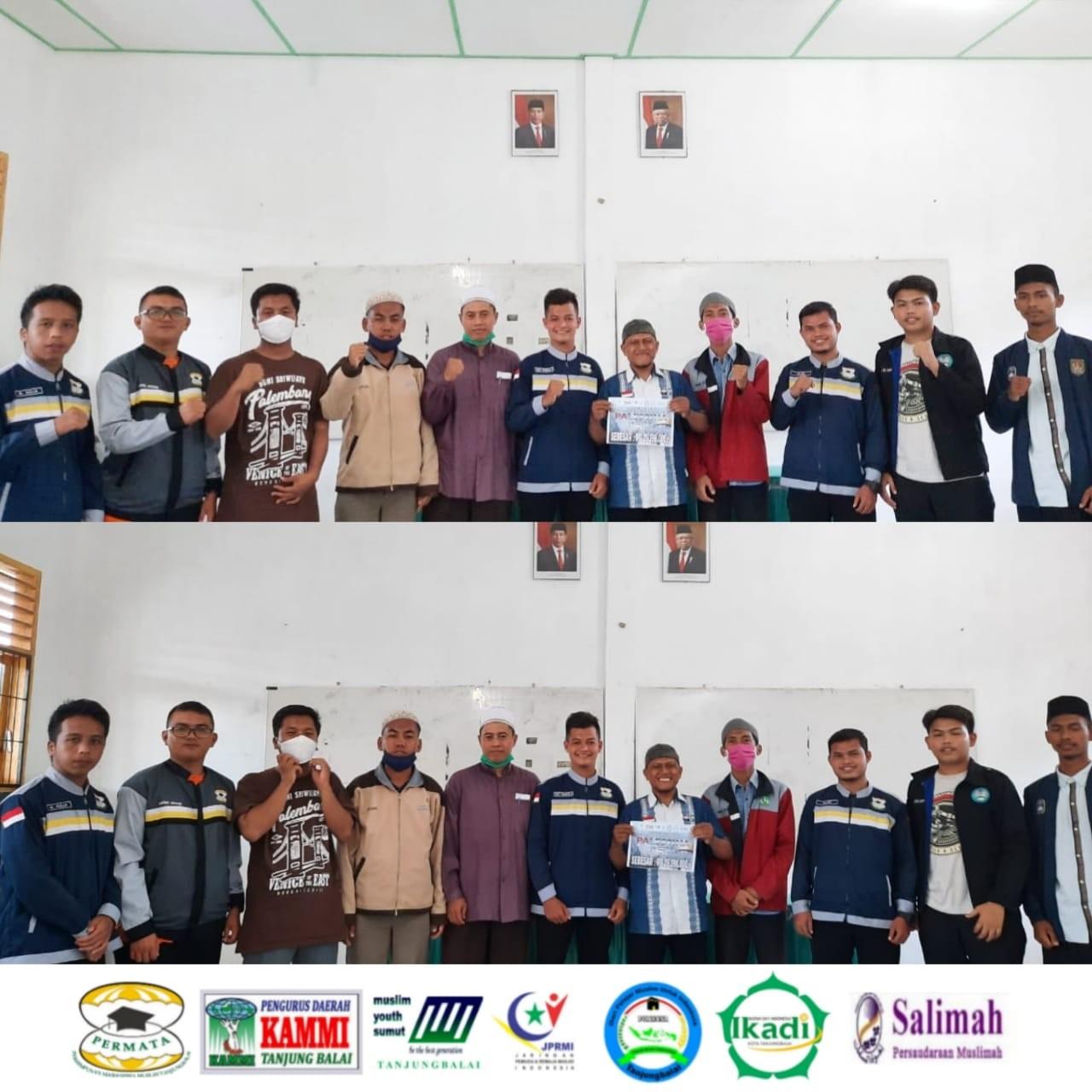 Organisasi Pemuda se-Kota Tanjungbalai Salurkan Donasi Uang Puluhan Juta Rupiah Untuk Palestina