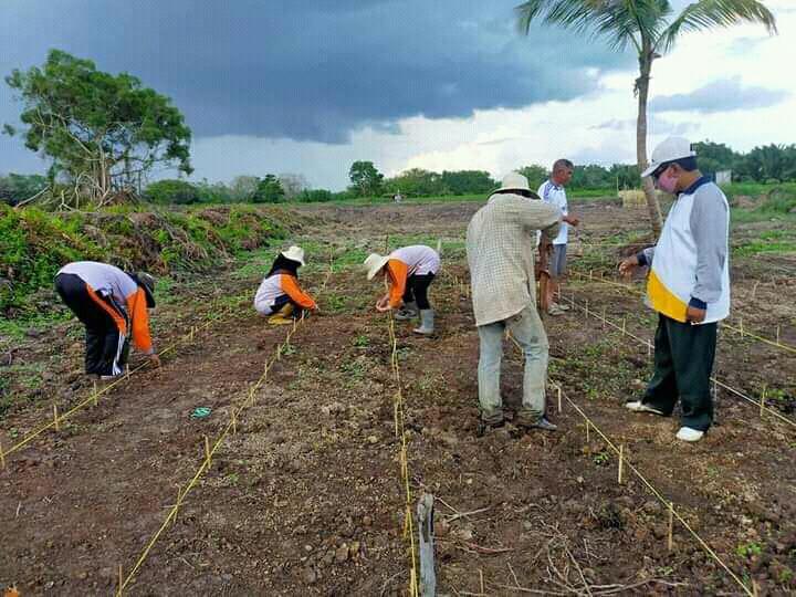 Sambu Group Dukung Program Jaga Kampung di Kecamatan Tanah Merah, Inhil