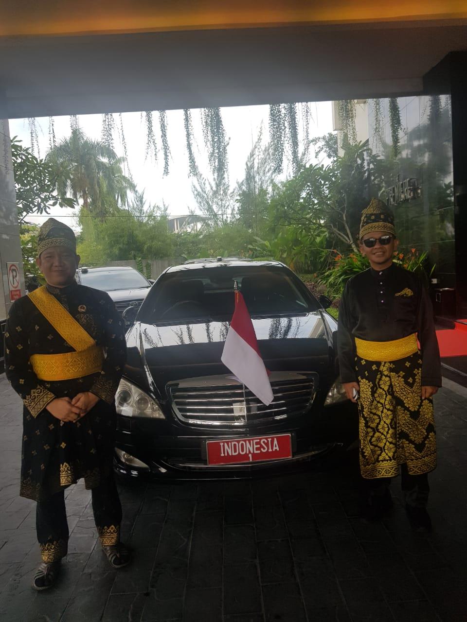 Di Acara Penabalan Gelar Adat Jokowi, Nama HIPMI Menggema Dua Kali