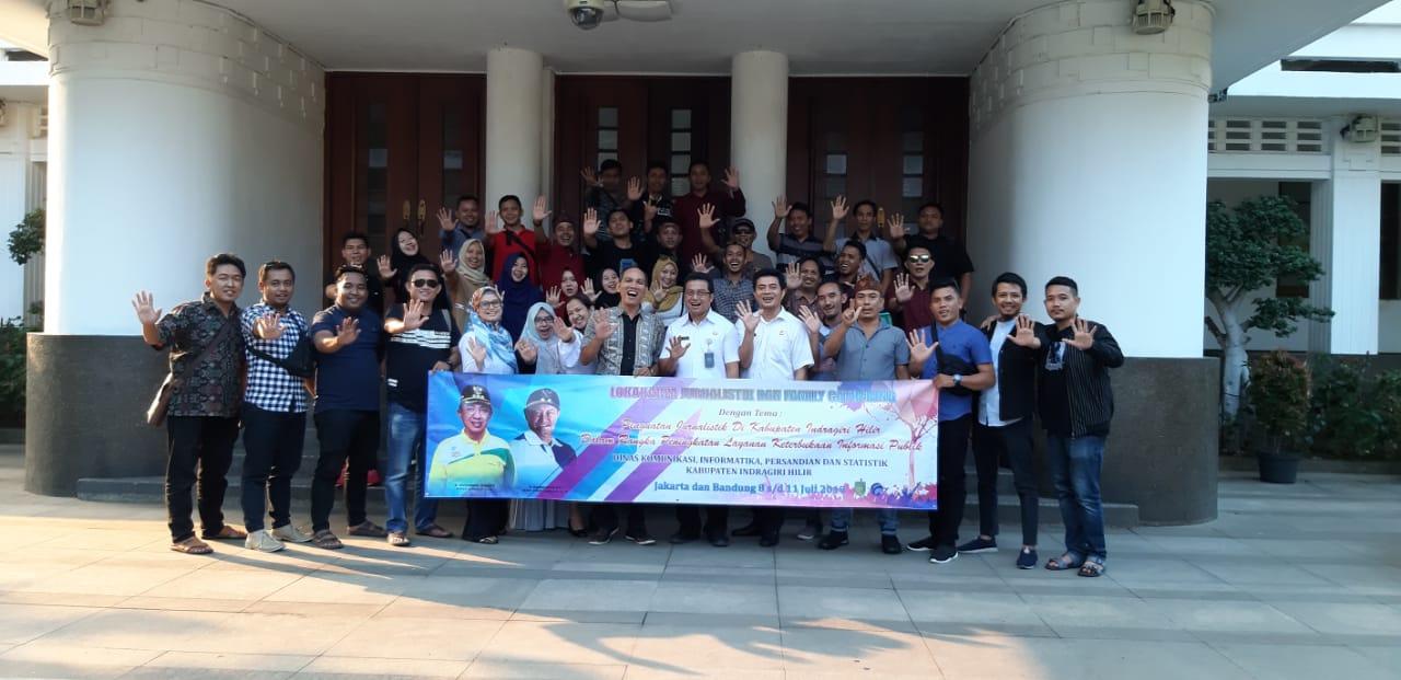 Family Gathering Kunjungi Diskominfo Kota Bandung, Trio Beni: Penting Guna Membentuk SDM Lokal Berwawasan Global