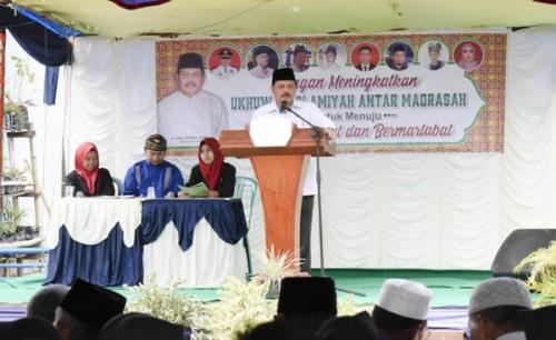 7 Madrasah Bertemu, Sekdakab Inhil: Teruslah Tingkatkan Mutu Pendidikan