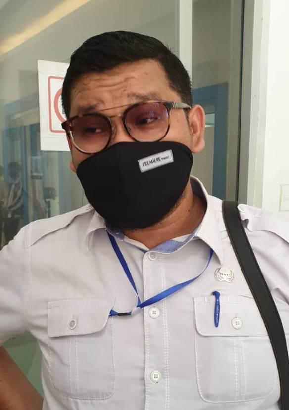 Pengunjung yang Kurang Sehat Dilarang Masuk Pasar