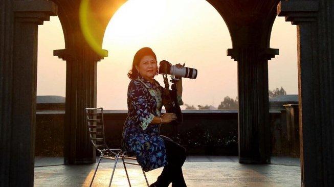 Cantiknya Jepretan Ani Yudhoyono