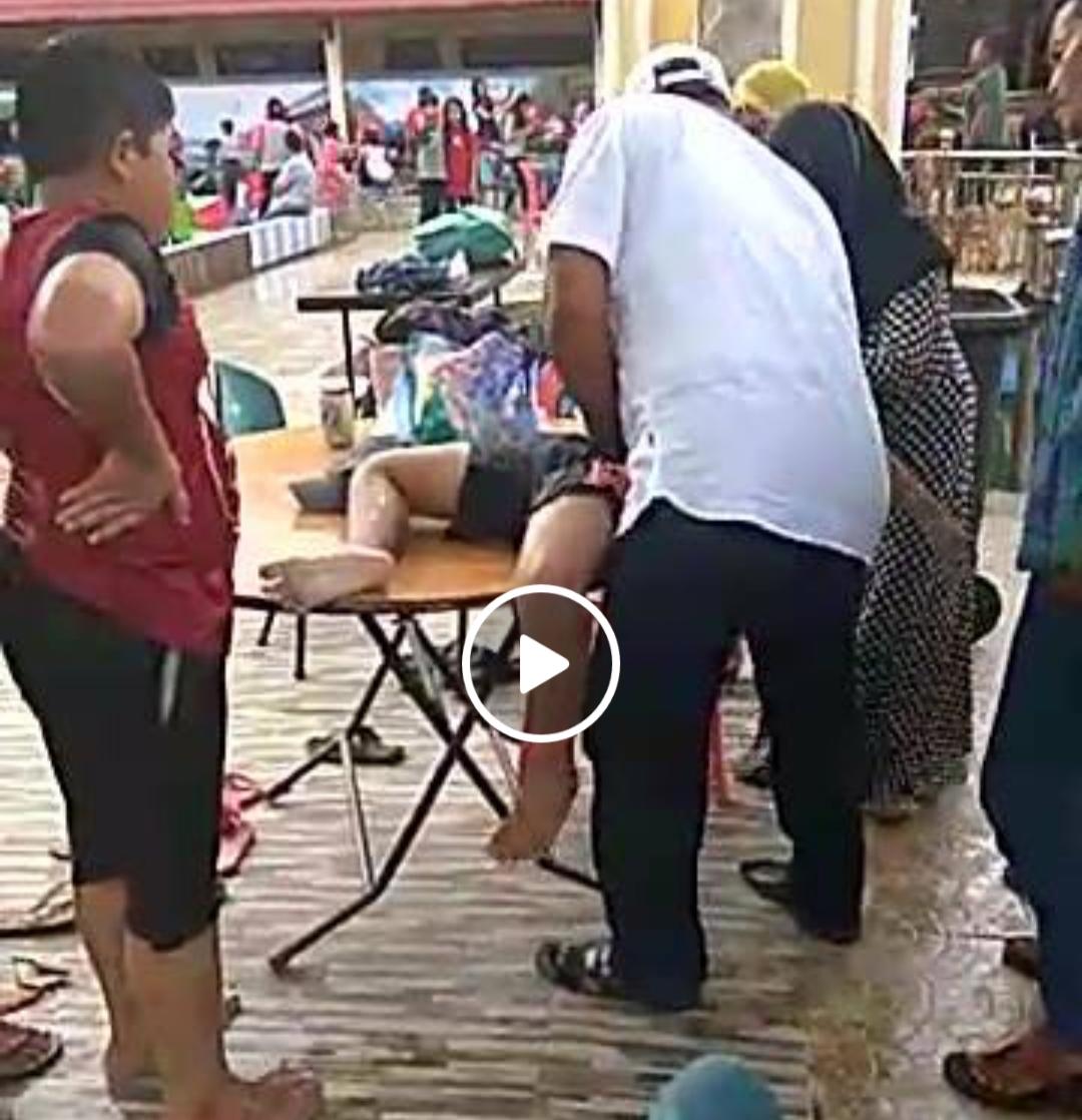 Detik-Detik Evakuasi Bocah Tenggelam di Kolam Renang Telaga Puri