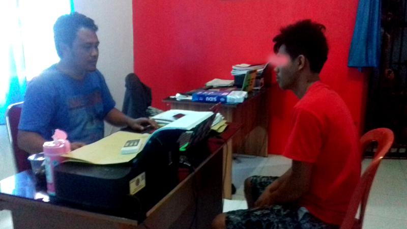 Dua Tersangka Kurir dan Pengedar Narkoba Dicekok Tim Ops Bersinar Lipu Polres Kepulauan Selayar
