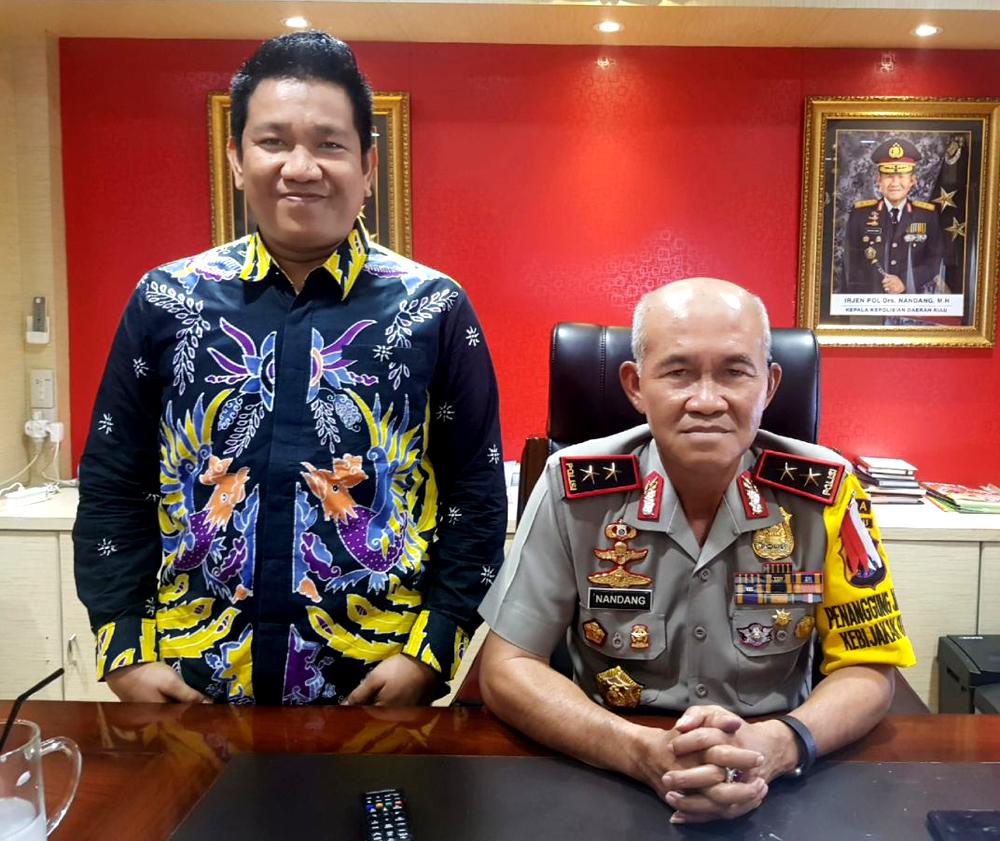 Tekad Budhi Membawa Munas HIPMI XVI ke Tanah Melayu Didukung Kapolda Riau