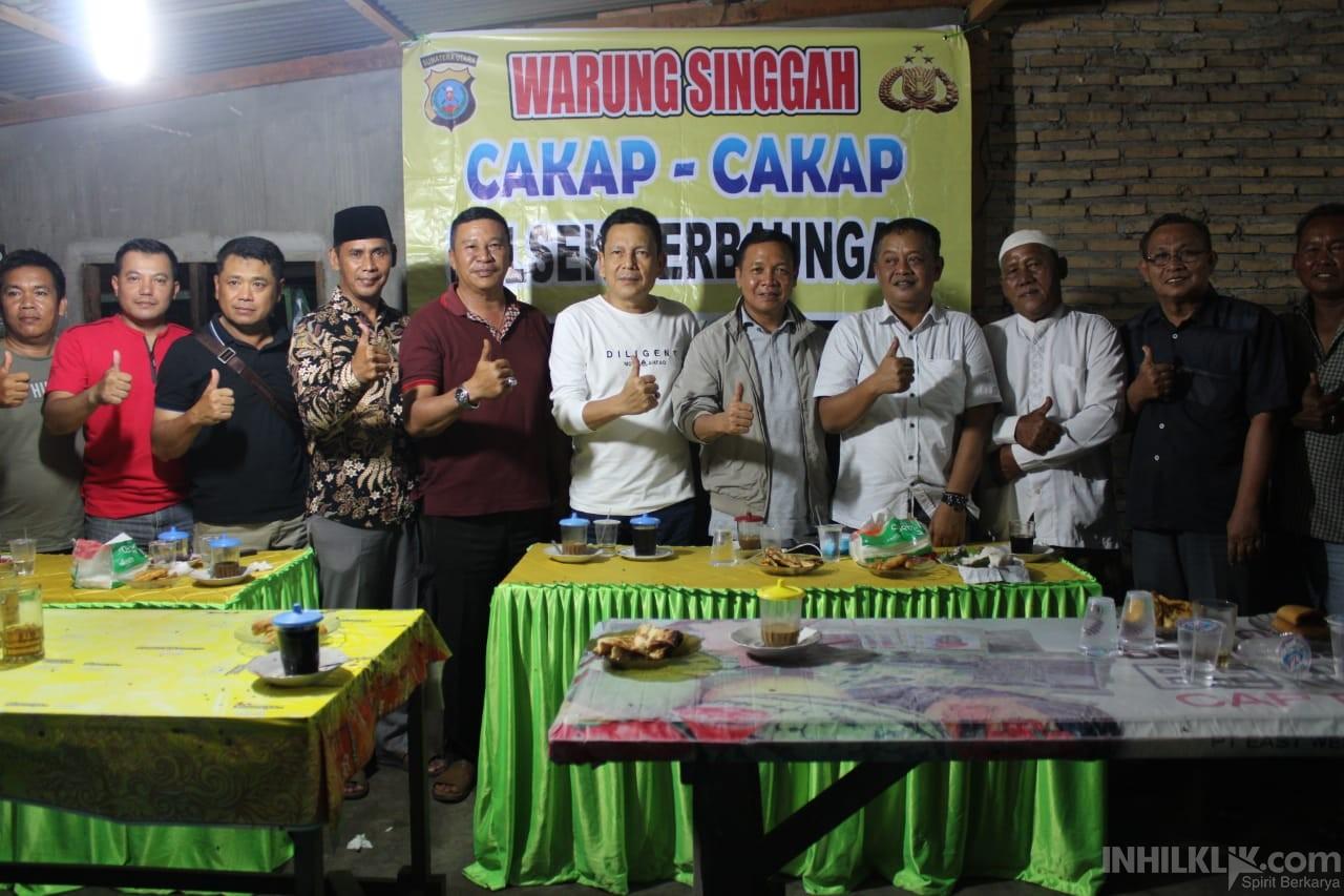 Serap Aspirasi Masyarakat, Kapolres Sergai bersama Anggota DPRD Sumut Giat Kombur - kombur di Jambur Pulau