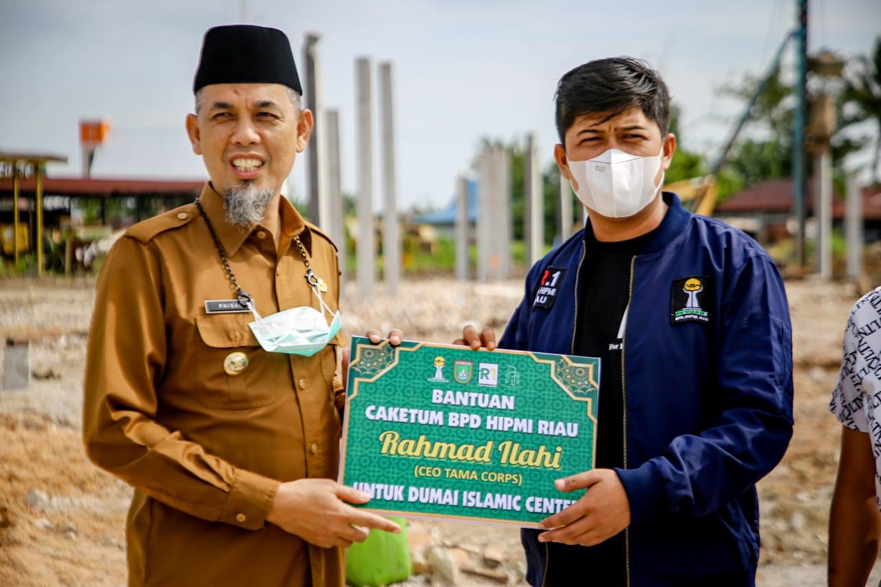 Pulang Kampung, Caketum HIPMI Riau Rahmad Ilahi Roadshow ke Dumai