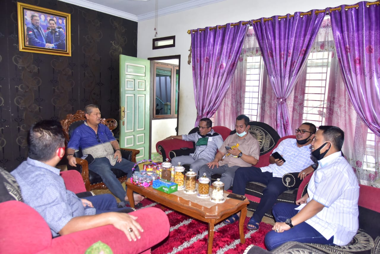 Wabup SU Terima Kunjungan Fraksi PKB DPRD Inhil