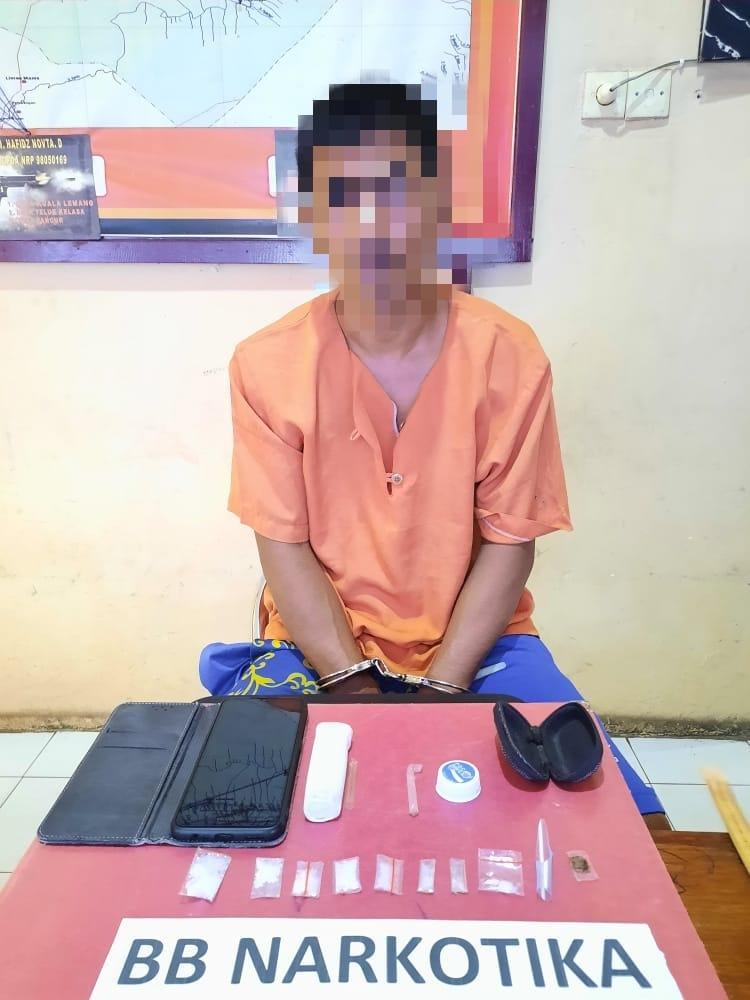 Hendak Letakkan Sabu ke Tiang Listrik, Pria Ini Ditangkap Polisi di Desa Petalongan