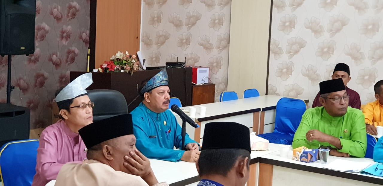 Sekda Pimpin Rapat Final Persiapan Milad Ke - 54 Kabupaten Inhil