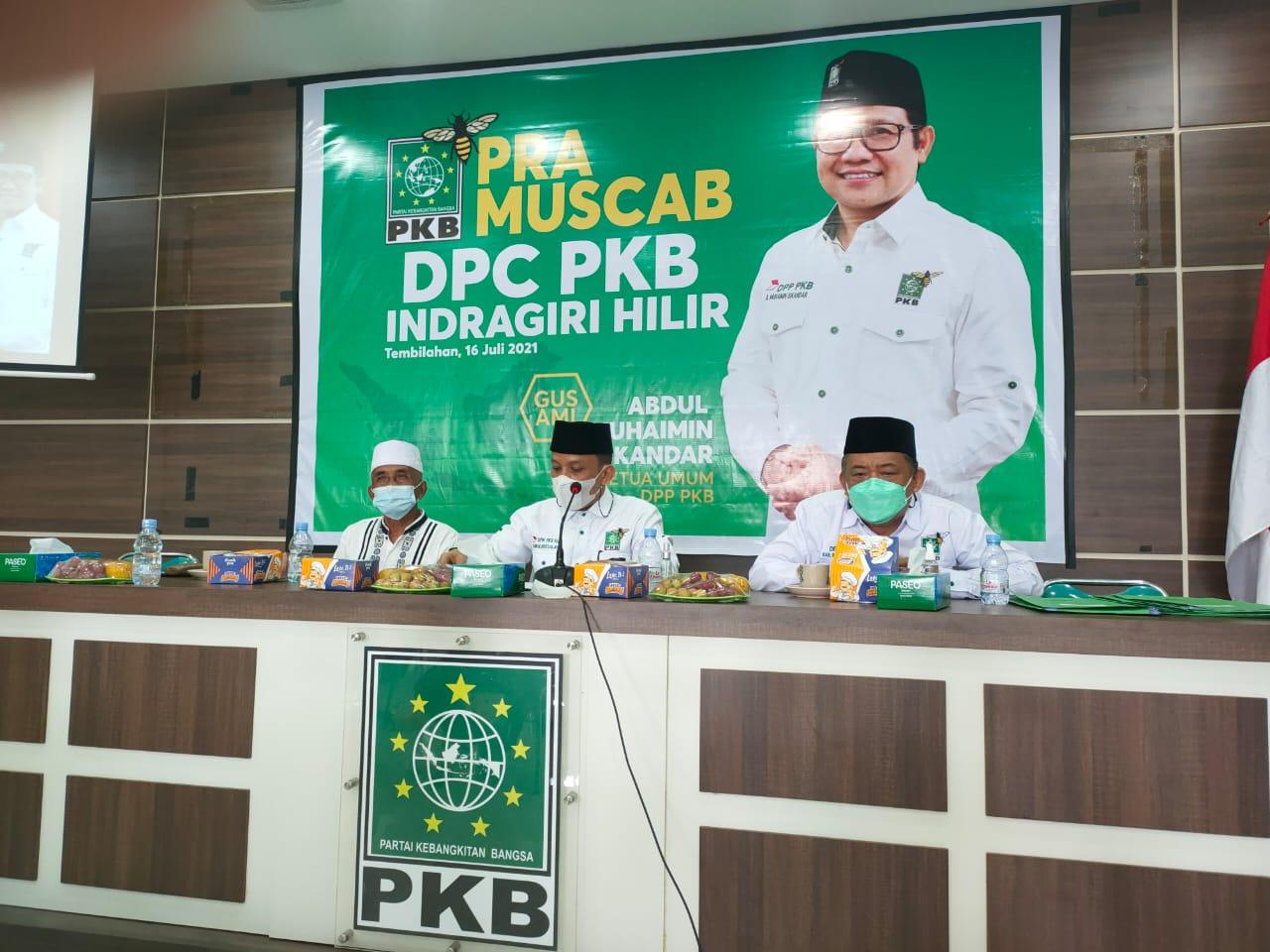 Hasil Pra Muscab Ke-5 PKB Inhil Mengerucut ke Iwan Taruna