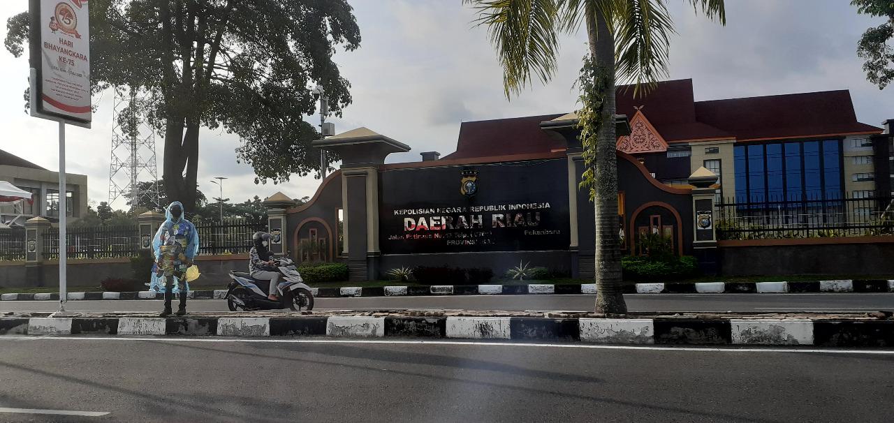 Polda Riau Diminta Segera Selesaikan Kasus Pengelolaan Sampah di Kota Pekanbaru
