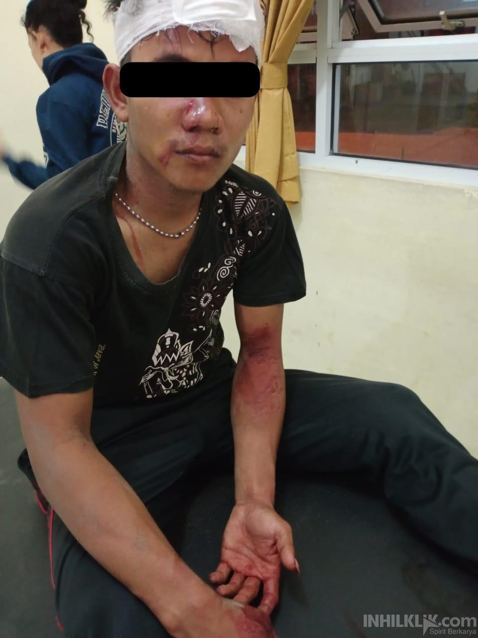 Diamuk Massa, Polsek Batang Kuis Amankan Pencuri Handphone