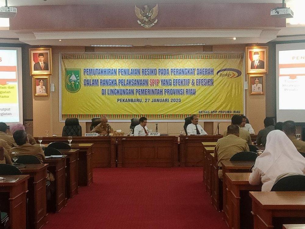 Inspektorat Riau Ajak Perangkat Daerah Provinsi Riau Tingkatkan Pemahaman SPIP