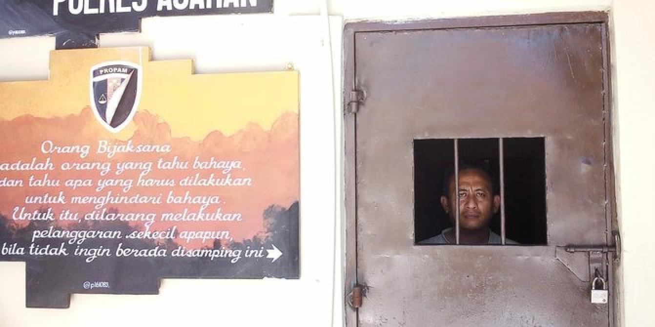 Hina Nabi Muhammad di Facebook, personel Polres Asahan masuk sel tahanan