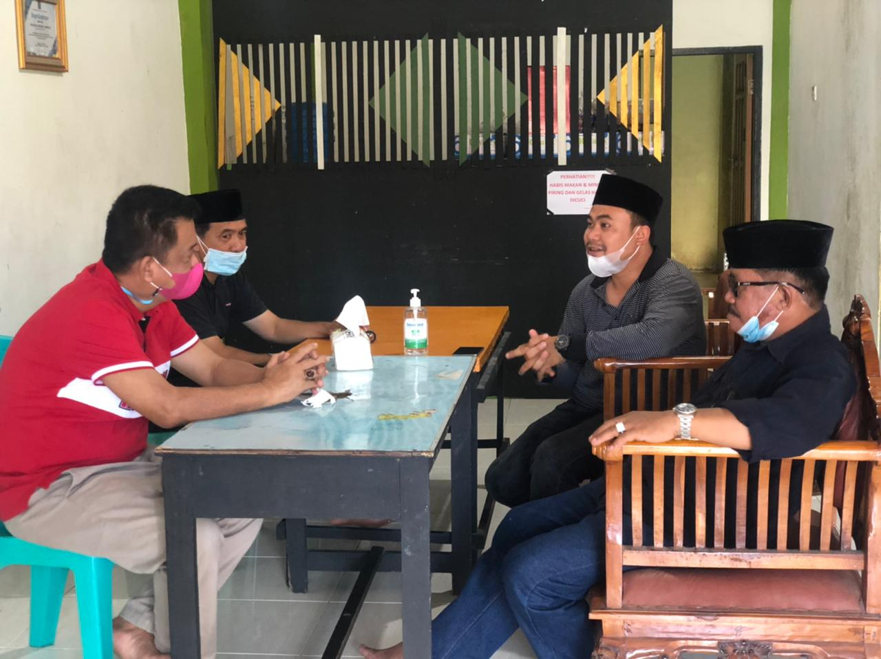 Pererat Silaturahmi, Pimpinan DPRD Inhil Sambangi Kantor PWI Inhil
