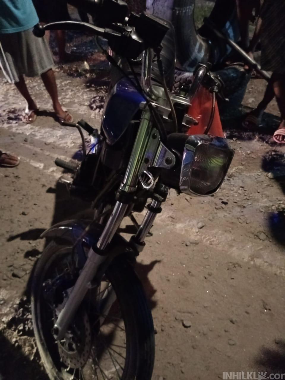 Tabrak Truk Parkir di Rampah Kiri, Pengendara dan Penumpang Sepeda Motor Luka Berat