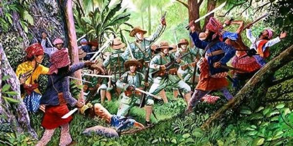 Perang Siak-Belanda, Guntung