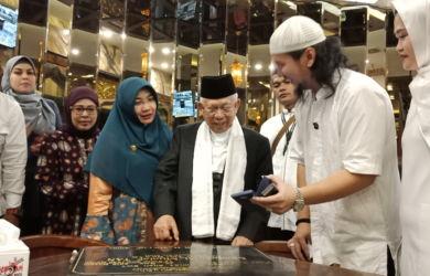 KH Ma'ruf Amin Resmikan Musala Al Mualaf Tan, Dunia dan Akhirat Harus Seimbang