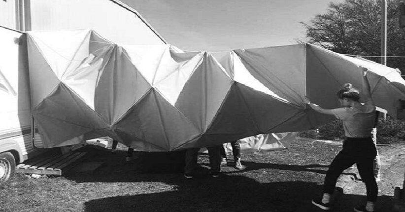 Origami Bisa Jadi Opsi untuk Arsitektur di Bulan dan Mars