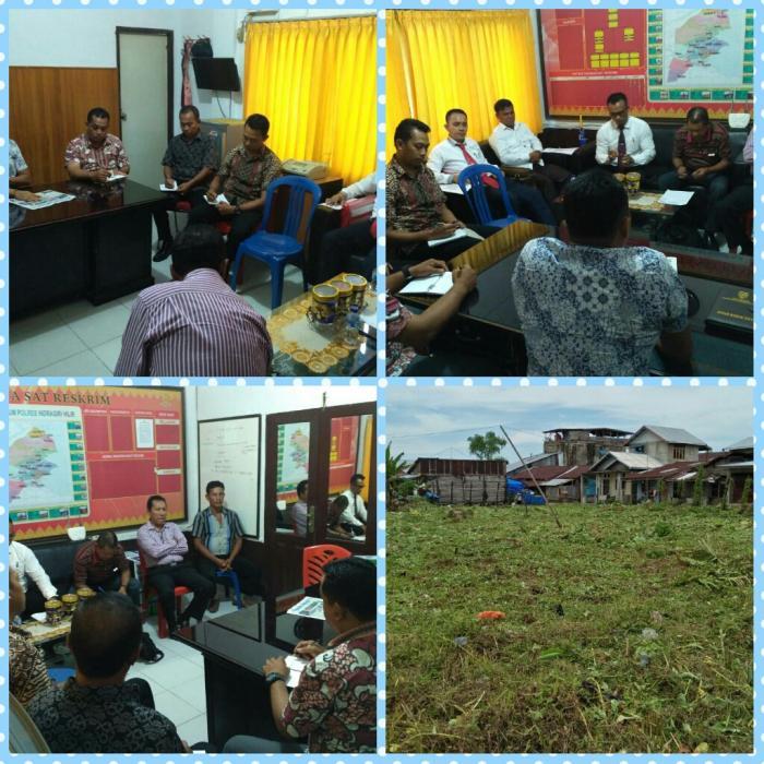 Polres Inhil Laksanakan Mediasi Sengketa Tanah di Kemuning
