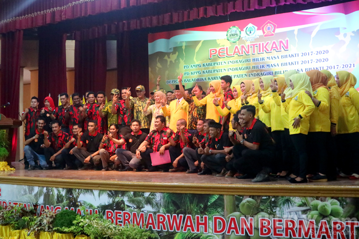 Tiga Organisasi di Inhil Bersatu, Menangkan HM Wardan dan Andi Rahman