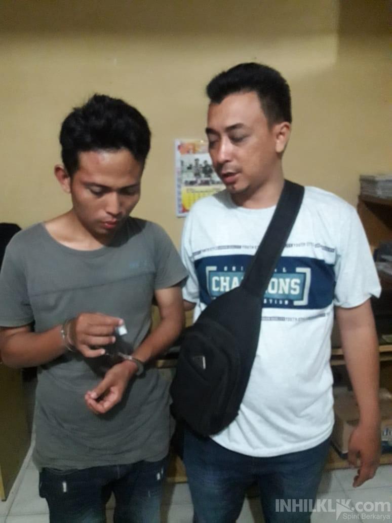 Pedagang Nyambi Jual Sabu, Pria Asal Citaman Jernih Diciduk Polisi di Jalan