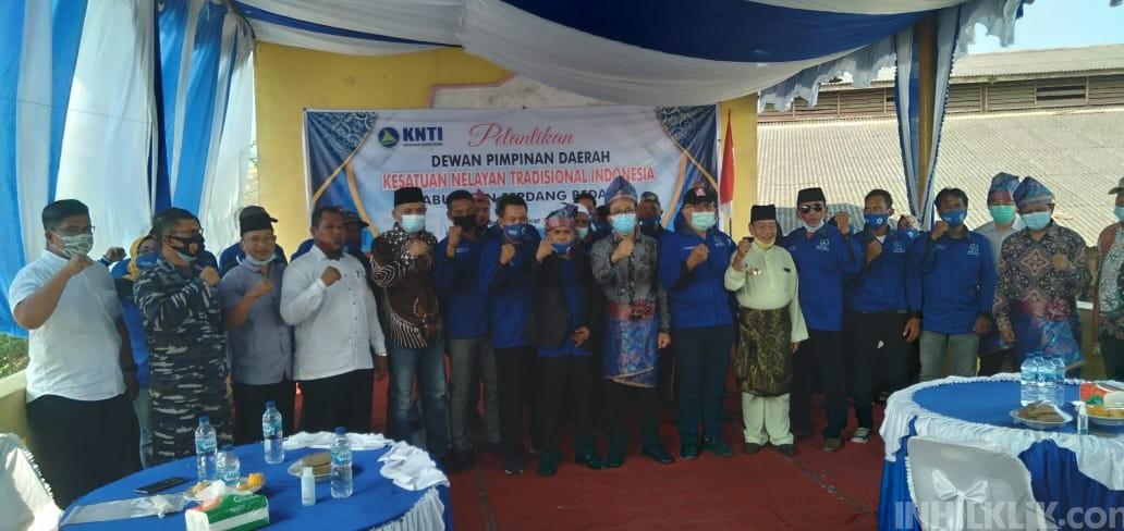 Ketum DPP KNTI Lantik Zulham Hasibuan Sebagai Ketua DPD KNTI Sergai